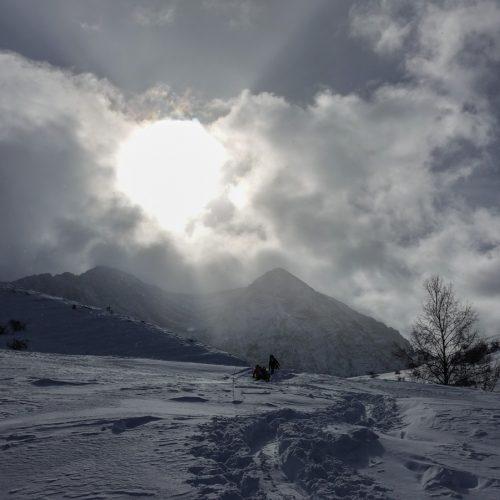 Esquí de montaña en Panticosa - Valle de Tena - Pirineo Aragonés