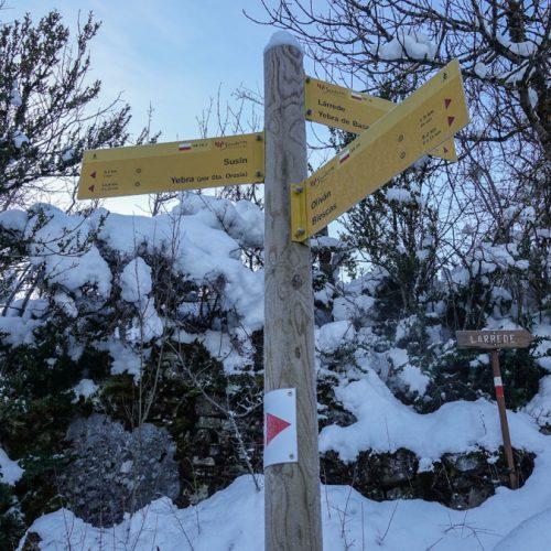 Oturia con esqui de travesia